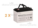 IMC Heartway Escape LX HP8 Wheelchair Batteries