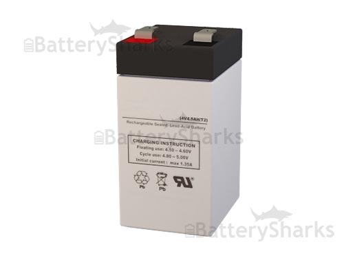 lp4 4 5 leoch battery replacement sla battery 4v 4 5ah. Black Bedroom Furniture Sets. Home Design Ideas