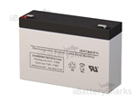 Prescolite EMB-0606 Battery 6V 7AH