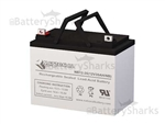 Medical Resource Co 35AH Wheelchair Battery