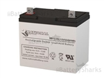 Medical Resource Co 55AH Wheelchair Battery