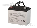 Medical Resource Co 75AH Wheelchair Battery