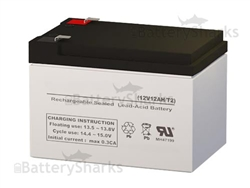 FirstPower FP12120 Battery 12V 12AH