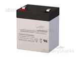 Gruber Power GPS12-5F2 Battery 12V 5.5AH
