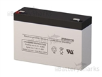 Gruber Power GPS6-7F2 Battery 6V 9AH