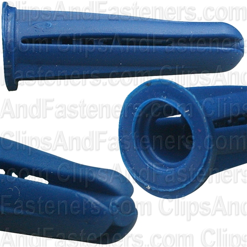 Plastic Anchors #10 - #12 Screw Size