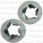 "1/4"" Pushnut Bolt Retainer 1/2"" O.D. Zinc"
