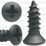 "#8 X 1/2"" Phillips Oval Head Tapping Screws"