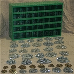 Grade 5 Fastener Assortment In 40 Compartment Bin