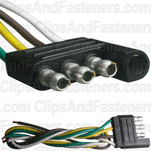 4-Way Harness Connector Male