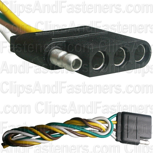 4-Way Harness Connector Female