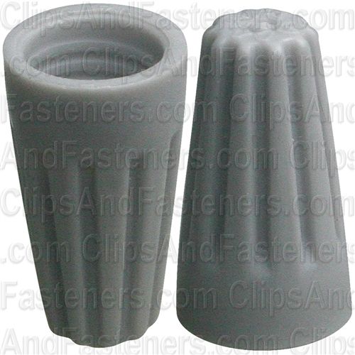 Wire Nut Connectors 18 - 16 Gauge Gray