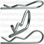 Hair Pin Cotter 1/16 - .062 Wire - Zinc