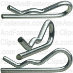 Hair Pin Cotter 1/8 - .125 Wire - Zinc