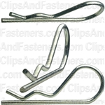 Hair Pin Cotter 3/32 - .093 Wire - Zinc