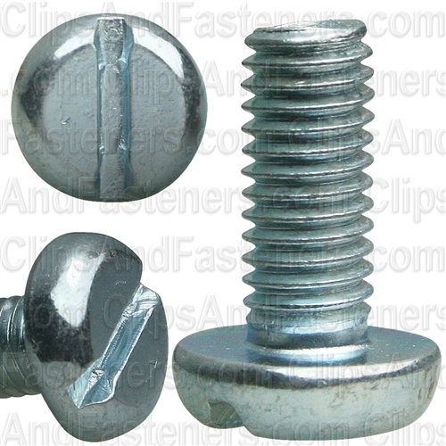 Din 85 - 5mm X 12mm Machine Screws Zinc