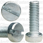 M5-.80 X 16mm Slotted Flat Fillister Head Machine Screws