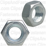 4mm-.7 DIN 934 Metric Hex Nuts - Zinc