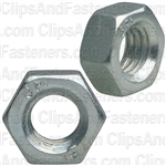5mm-.8 DIN 934 Metric Hex Nuts - Zinc