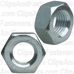 8mm-1.0 DIN 934 Metric Hex Nuts - Zinc