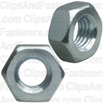 10mm-1.5 DIN 934 Metric Hex Nuts - Zinc