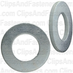 8mm Zinc Din 125 Metric Flat Washer - Zinc