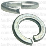 4mm DIN 127 Metric Lock Washers - Zinc