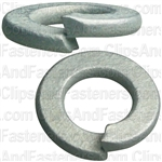 6mm DIN 127 Metric Lock Washers - Zinc