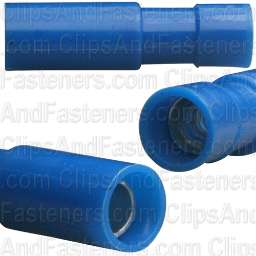 "Fully Insulated Crimp-On Female Connector .157"" 16-14 Ga."