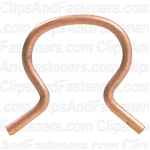 Door Handle Retaining Clip Copper Steel - GM
