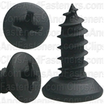 #10 X 1/2 Phil Oval Hd T.S. - Black Oxide