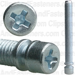"1/4""-28 X 2"" Phillips Headlight Adjusting Screw"