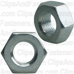 10mm-1.00 Zinc Metric Hex Nut Din 934 Cl 8 - Zinc