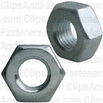 10mm-1.25 Zinc Metric Hex Nut Din 934 Cl 8 - Zinc