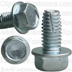3/8-16 X 3/4 Hex Washer Head Thread Cutting Screws Zinc