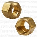 Brass Fitting Compression Nut 5/16