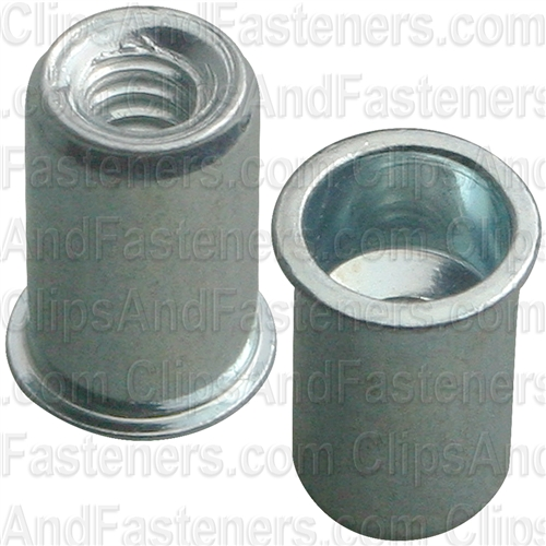 Thin sheet Nutsert 6-32