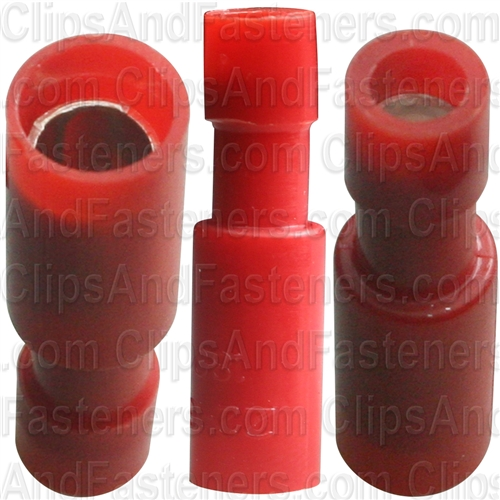Female Snap Plug Connector Red - Ford
