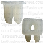 #8/#6 Screw Nylon Nut- Amc