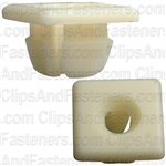 1/4/#14 License Plate Nut Nylon - GM