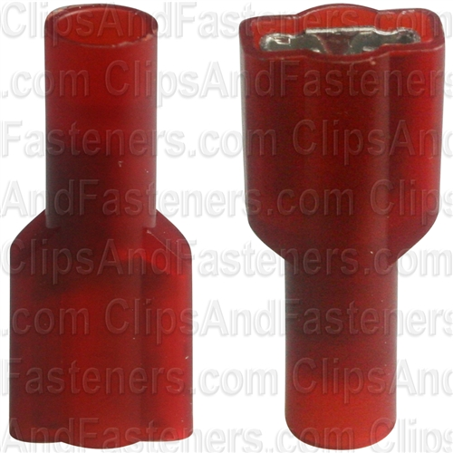 22-18 Ga Fully Insulated Nylon Female Quick-Connect Terminals