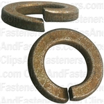 "5/8"" High Alloy Split Lock Washer - Zinc & Yellow"