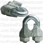 "Nipper Wire Rope Clip 5/16"" Dia. - Galvanized"
