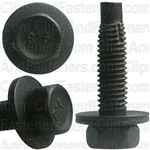 M5-0.8 X 20mm Hex Head Sems Thread Cutting Screw