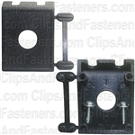 "Toggle Switch Mounting Panel 1/2"" Hole Diameter"