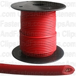 Plastic Primary Wire Red 100' 18 Gauge