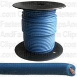 Plastic Primary Wire Blue 100' 18 Gauge