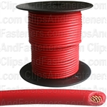 Plastic Primary Wire Red 100' 16 Gauge