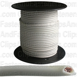 Plastic Primary Wire White 100' 16 Gauge