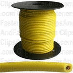 Plastic Primary Wire Yellow 100' 16 Gauge